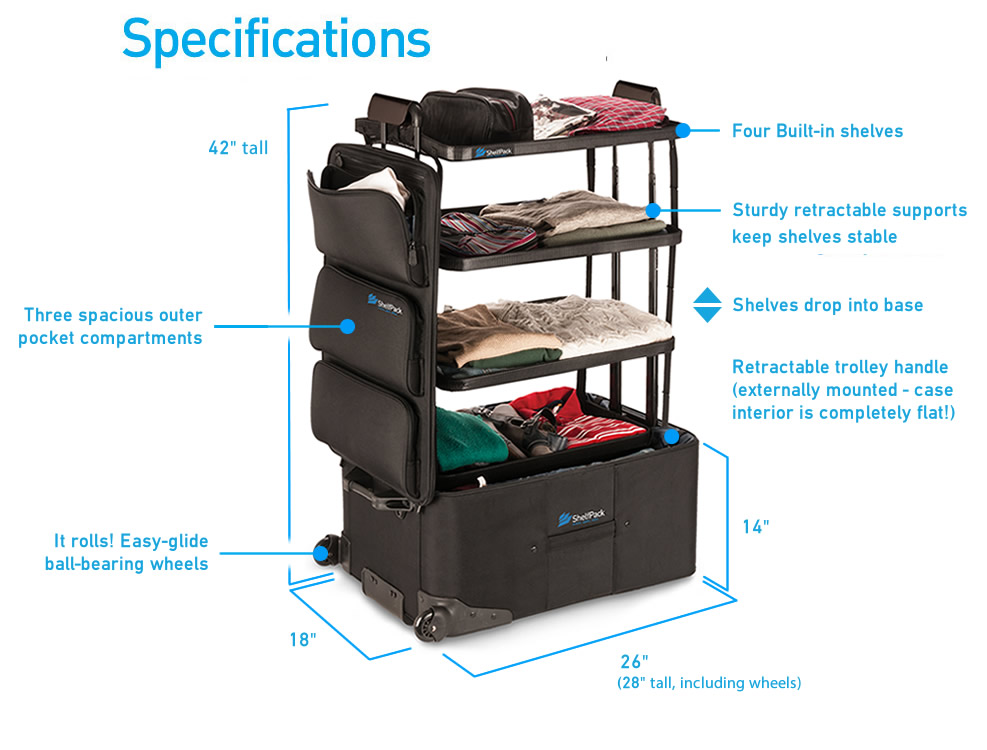 Shelfpack Dimensions & Specifications
