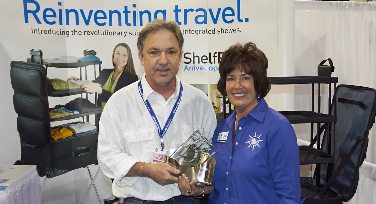 Shelfpack: Winner of the 2015 International Travel Goods Show Buzz Award