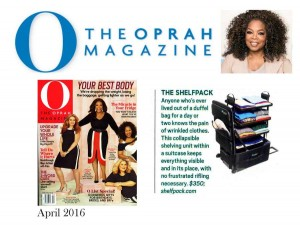 Oprah Magazine, April 2016