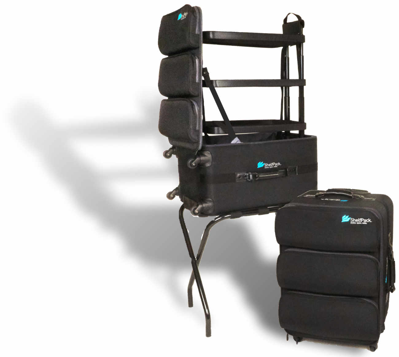 Shelfpack Introducing The Revolutionary Suitcase With